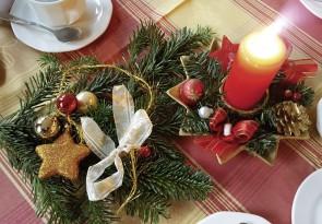 Adventskaffee, Nachbarschaft, Weihnachten