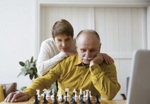 Schach spielen, Denksport, Online