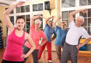 Seniorengymnastik, Foerderung der Gemeinschaft in der Harabau e.V.