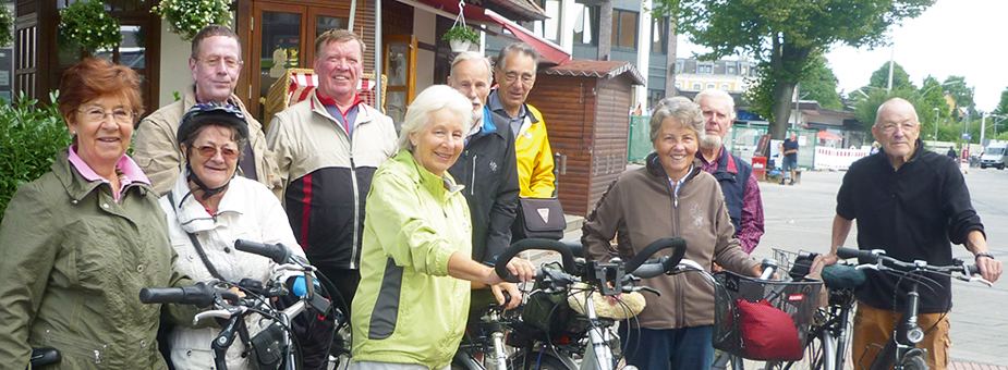 Fahrradgruppe Stramme Wade