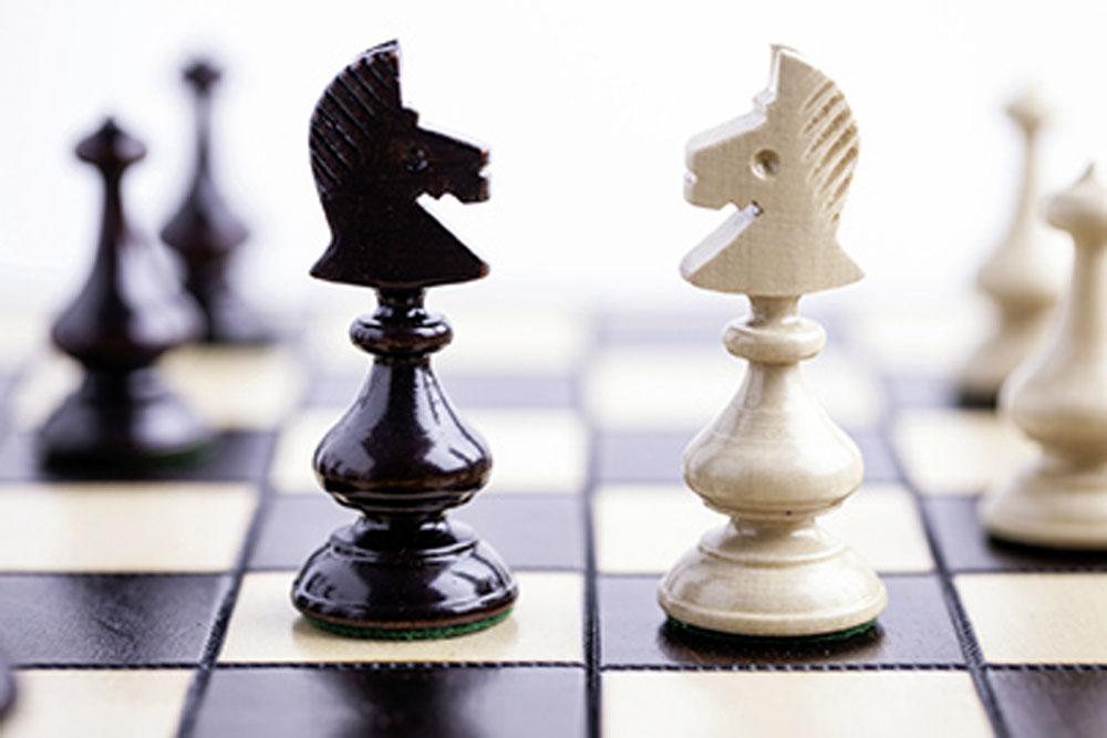 Schach, Geselligkeit, Spielen