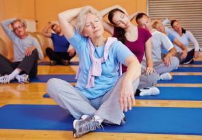 Sport, Seniorengymnastik, Foerderung der Gemeinschaft in der Harabau e. V.