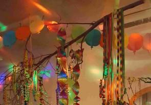Silvester, Feiern, Tanzen, Lachen