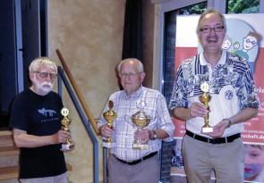 Schach, Pokaluebergabe, Siegerehrung