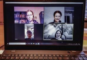 Video-Konferenz, Online-Schulung, Ehrenamt