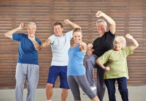 Rücken-Fit 50+, Gymnastik