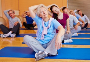 Sport, Gymnastik, Bauch-Beine-Po